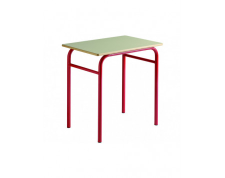Table Scolaire Trad 2 Places Taille 4 A 6